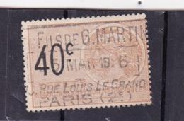 T.F. Effets De Commerce N°458 - Revenue Stamps