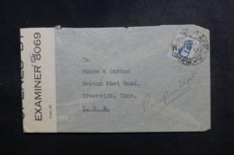 BRÉSIL - Enveloppe Pour Greenwich En 1942 Avec Contrôle Postal - L 47864 - Briefe U. Dokumente