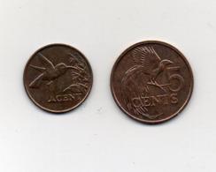 Trinidad E Tobago - 1990 - 1 E 5 Centesimi - (MW2659) - Trindad & Tobago