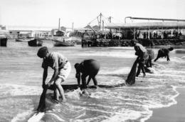 ANGOLA  - Province Portugaise De L'Afrique Occidentale - MOCÂMEDES  -  En Lavant Des Filets De Pêche - Angola