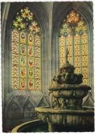 Stift Heiligenkreuz - Brunnen Mit Babenbergerfenster  - (Austria) - Malerei/Vitrail - Heiligenkreuz
