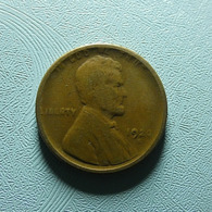 USA 1 Cent 1920 S - 1909-1958: Lincoln, Wheat Ears Reverse