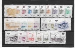 België Spoor N° 433/454  Xx Postfris Uitgifteprijs 1595Bfr(39,5 Euro) - Ferrovie