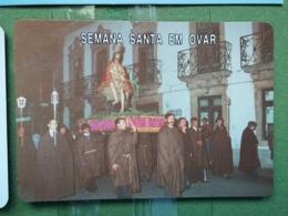 Kal 20 - CALENDAR - PORTUGAL 1987-1989,, JESUS CHRIST - Klein Formaat: 1981-90