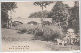 RABLAY PONT ET PAYSAGE SUR LE LAYON TBE - Other Municipalities