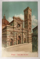 V 10942 Firenze - Santa Maria Del Fiore - Firenze (Florence)