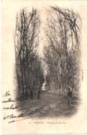 FR34 PEZENAS - AM 10 - Précurseur - Promenade Des Prés - Animée - Belle - Pezenas