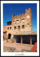 ITALIA - CERTALDO (FIRENZE) -PALAZZO PRETORIO - CARTOLINA NUOVA - Italy