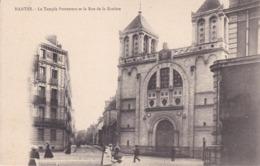 [44] Loire Atlantique > Nantes Le Temple Protestant Et La Rue De La Roziere Précurseur - Nantes