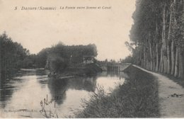 80 - DAOURS - La Pointe Entre Somme Et Canal - Autres Communes