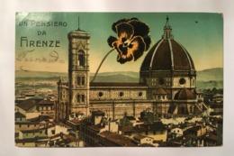 V 10943 Firenze - Un Pensiero Da Firenze - Firenze