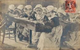 SALON 1909 ROBIQUET PENDANT LA DICTEE - Paintings