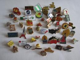 Pin's Pin S Lot De Vingt Huit Sport Divers - Badges