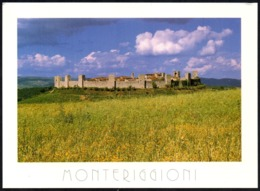ITALIA - MONTERIGGIONI (SIENA) - PANORAMA - CARTOLINA NUOVA - Italy