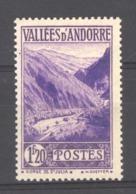 Andorre  :  Yv  76  ** - Neufs