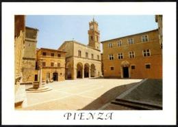 ITALIA - PIENZA (SIENA) - PIAZZA PIO II - CARTOLINA NUOVA - Italy