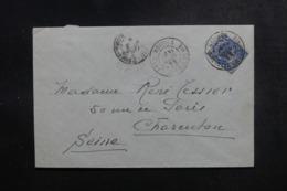 NOUVELLE CALÉDONIE - Enveloppe De Nouméa Pour La France En 1922, Affranchissement Plaisant - L 47875 - Nieuw-Caledonië