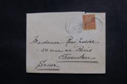 NOUVELLE CALÉDONIE - Enveloppe De Nouméa Pour La France En 1924, Affranchissement Plaisant - L 47877 - Nieuw-Caledonië