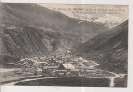 CPA-09-Ariège- Village De L'HOSPITALET Et Ateliers Des Travaux Du Transpyrénéen- Vue Générale- - Francia