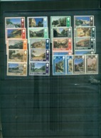 GIBRALTAR SERIE COURANTE GIBRALTAR D'HIER ET AUJOURD'HUI 32 VAL NEUFS A PARTIR DE 4 EUROS - Gibilterra