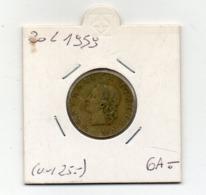 ITALIA - 1959 - 20 Lire - (MW2665) - 20 Lire
