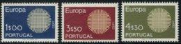 Portugal  1970 Yvertn° 1073-1075 *** MNH Cote 22,50 Euro  Europa Cept - Europa-CEPT