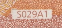 "50 EURO ITALIA  SE  S029 A1  FIRST POSITION  Ch. ""36""  - DRAGHI   UNC - 50 Euro"