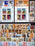 Yugoslavia 1990 Complete Year, MNH (**) - Yugoslavia