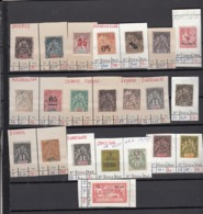 France  Lot De Timbres   Ex Colonies - France (former Colonies & Protectorates)