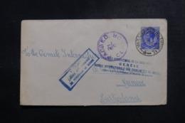 AFRIQUE DU SUD - Enveloppe ( Vendue Par L'Agence Intern. Des PG)  Pour La Suisse En 1918 Avec Contrôle Postal - L 47883 - Afrique Du Sud (...-1961)