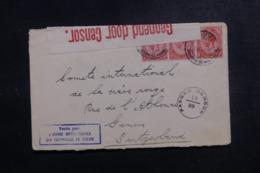 AFRIQUE DU SUD - Enveloppe ( Vendue Par L'Agence Intern. Des PG)  Pour La Suisse En 1918 Avec Contrôle Postal - L 47885 - Afrique Du Sud (...-1961)