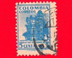 COLOMBIA - Usato - 1948 - Osservatorio Astronomico Nazionale - 5 - Colombia