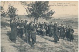 CAMP De CHALONS - Régiment De Zouaves, La Clique - Camp De Châlons - Mourmelon