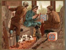CHROMO HUNTLEY & PALMERS FABRICANTS DE BISCUITS READING & LONDRES  VOYAGE EN TRAIN - Altri