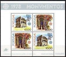 Cept 1978 Portugal Yvertn° Bloc 23 *** MNH Cote 24 Euro - Europa-CEPT