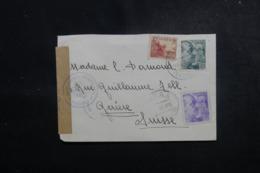 ESPAGNE - Cachets De Censures Sur Enveloppe De Potes Pour La Suisse En 1940 - L 47893 - Marques De Censures Nationalistes
