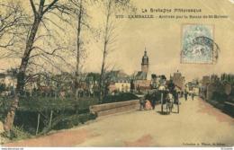 22  LAMBALLE  - ARRIVEE  Par La ROUTE De ST BRIEUC, ( état ) - Lamballe