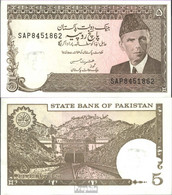 Pakistan Pick-Nr: 38 Bankfrisch 1983 5 Rupees - Pakistan