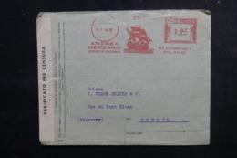 ITALIE - Enveloppe Commerciale De Milano Pour La Suisse En 1940 Avec Contrôle Postal - L 47899 - 1900-44 Victor Emmanuel III