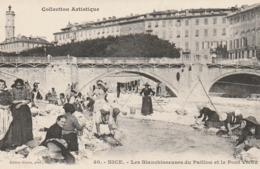 ***  06  *** NICE Les Blanchisseuses Du Paillon Et Le Pont Vieux  (ce N'est Pas Une Repro) Précurseur Neuf LUXE - Marchés, Fêtes