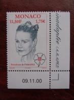 MONACO 2000 - Y&T N° 2275 ** COIN DATE - AMAPEI, PRINCESSE STEPHANIE - Monaco