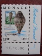 MONACO 2000 - Y&T N° 2285 ** COIN DATE - ASCAT - Monaco