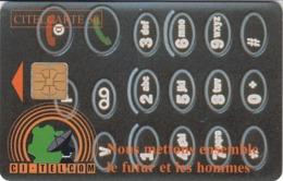 IVORY COAST - 18 - TELEPHONE DIAL - Côte D'Ivoire