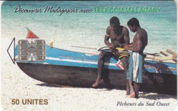 Madagascar Fisherman 120.000 Ex - Madagaskar