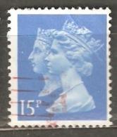 Great Britain: 1 Used Stamp From A Set, 1990, Mi#1240(2) - 1952-.... (Elizabeth II)