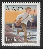 Aland 2010 History Of Post, Postal Service By Postman And Postman (1638-1910), Mi  331 MNH(**) - Aland