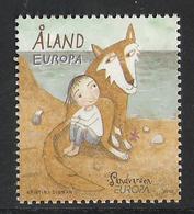 "Aland 2010 Europa: Childrens Book, ""Zackarina And Ulvenf""; Of Åsa Lind  Mi  324 MNH(**) - Aland"