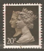 Great Britain: 1 Used Stamp From A Set, 1990, Mi#1241C(3) - Machins