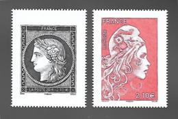 """France 2019 - Céres Noire & Marianne L'engagée ** - Grands Formats (issus Du Carnet """" Salon D'Automne"""") - Francia"""