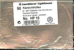 Leuchtturm - ETUIS De PROTECTION 145x95 Mm (Etuis Pour Cartes Postales, REF. HP 10) - Buste Trasparenti